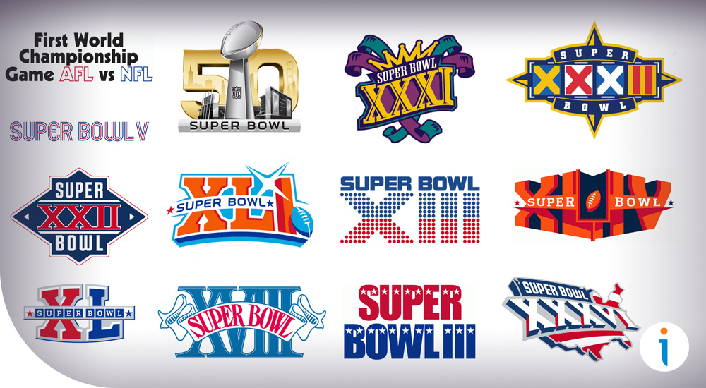 Top 5 Super Bowl Logos of All Time