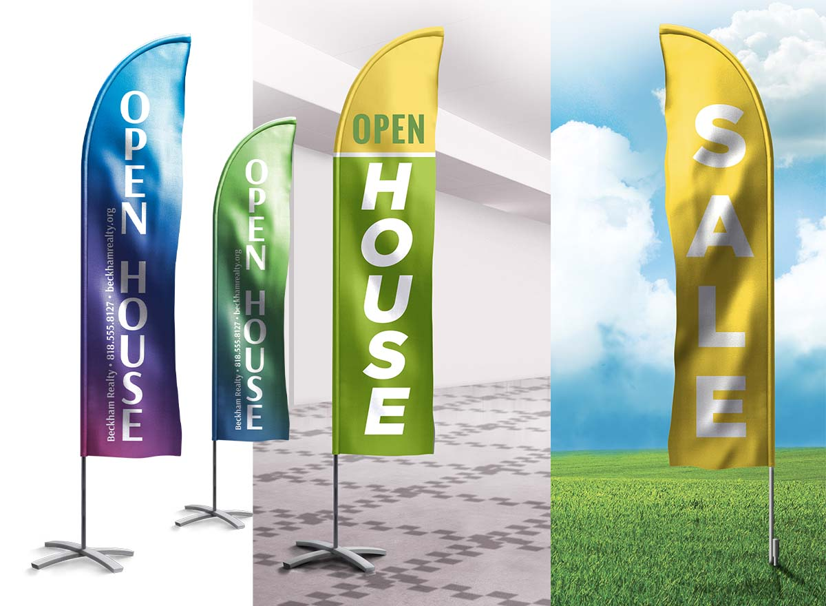 Large Format Printing - Flag Banners