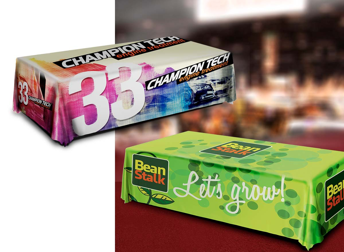 Large Format Printing - Table Covers