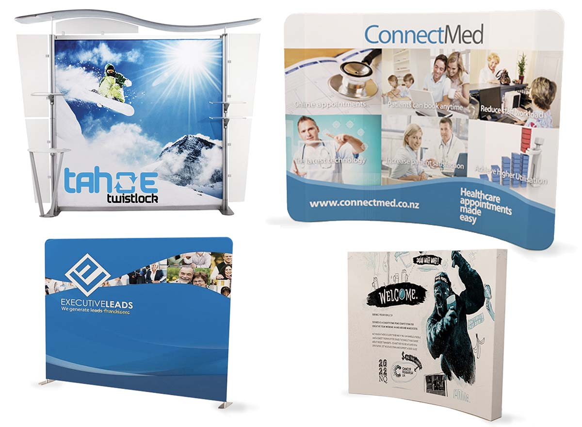 Large Format Printing - Tradeshow Displays