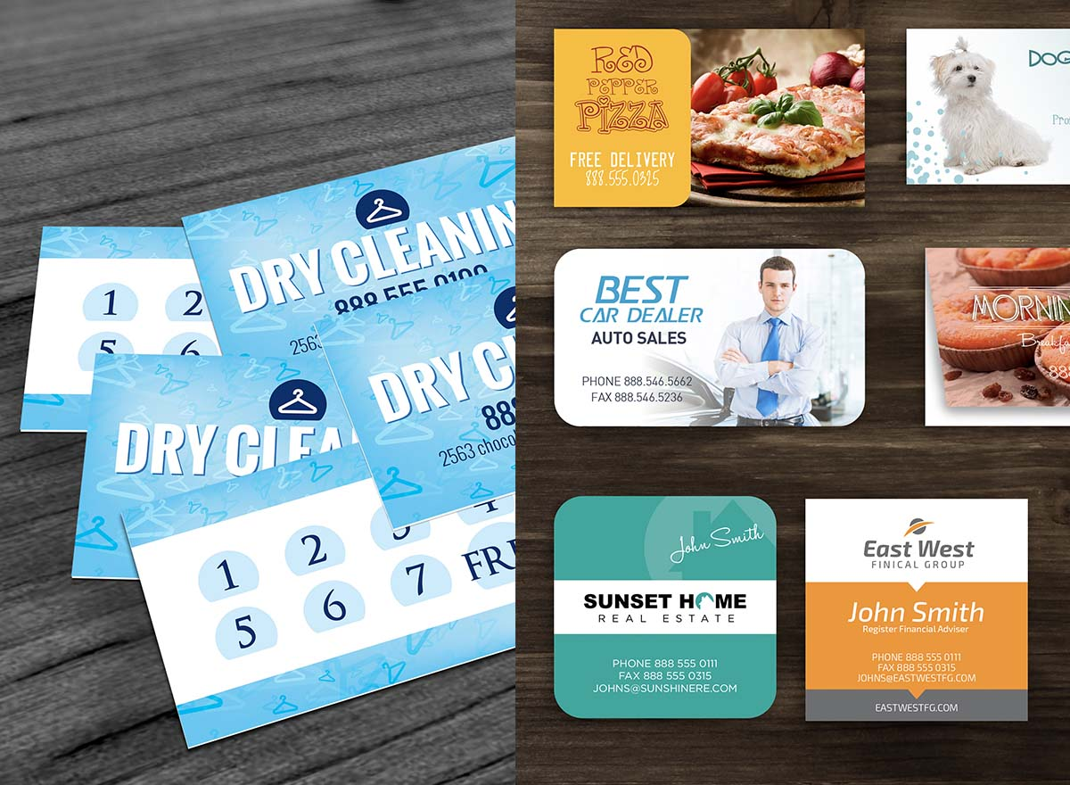 Large Format Printing - Business Cards