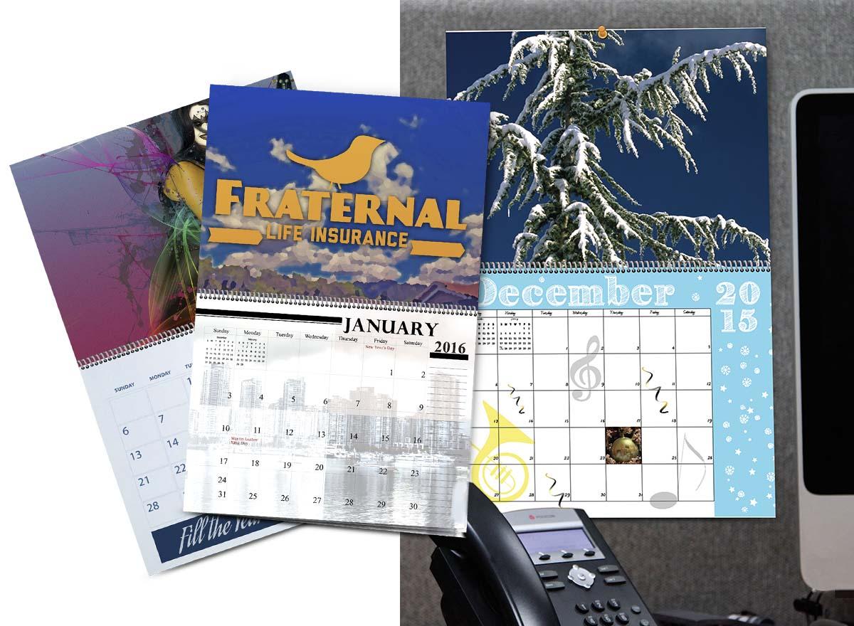 Marketing Materials Printing - Calendars