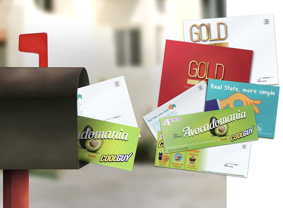 Marketing Materials Printing - Direct Mail & EDDM