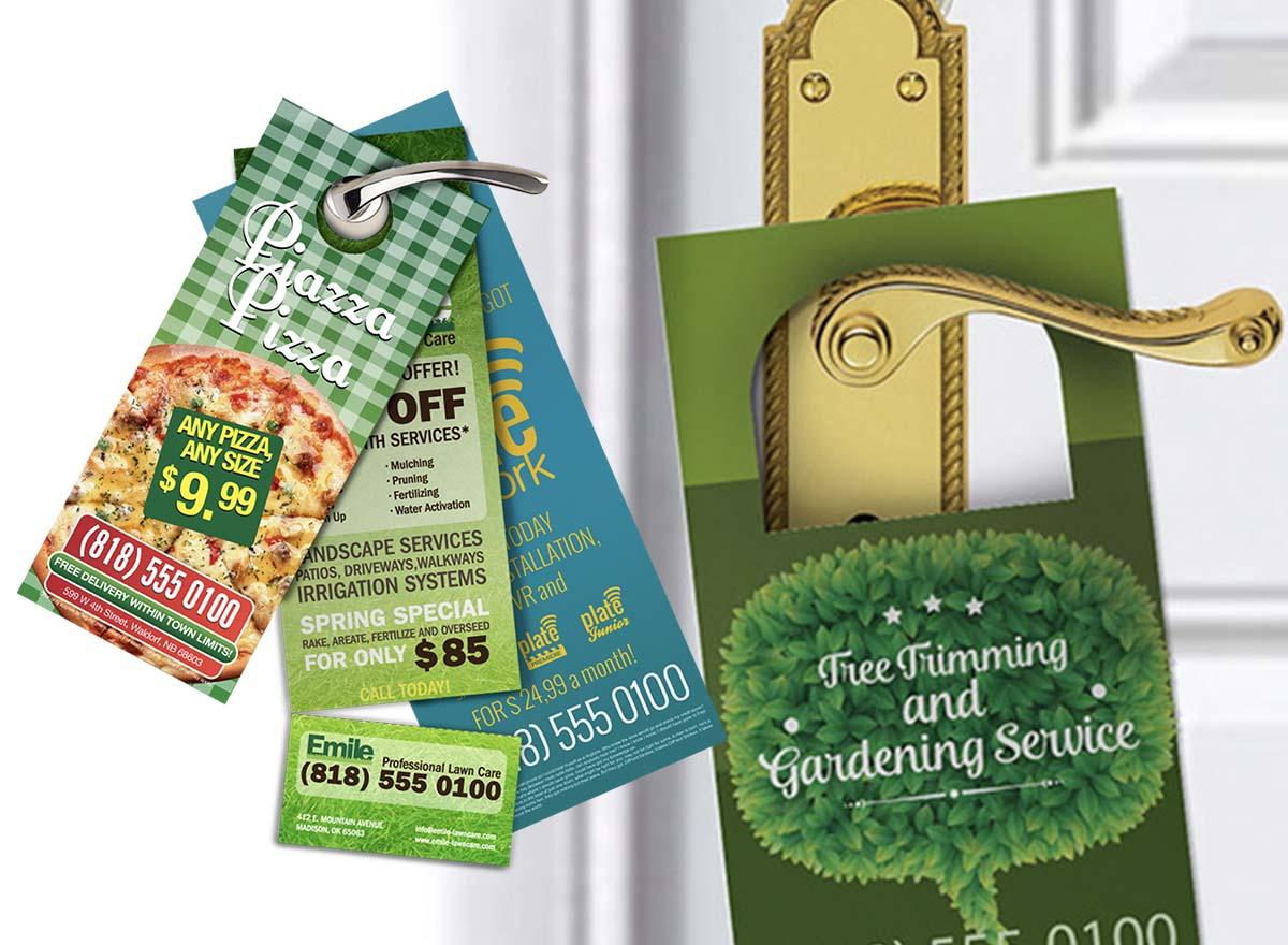 Marketing Materials Printing - Door Hangers