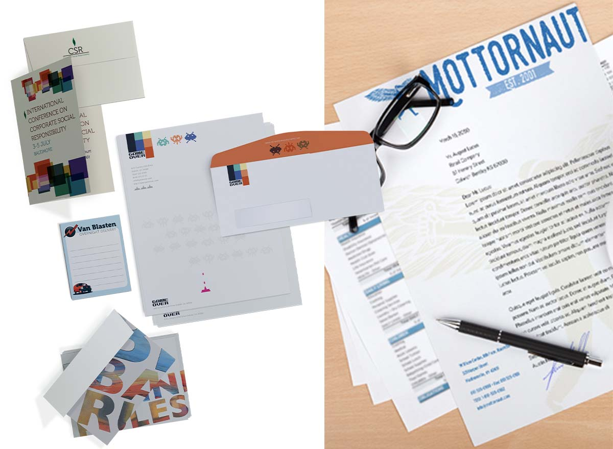 Marketing Materials Printing - Letterheads & Stationery