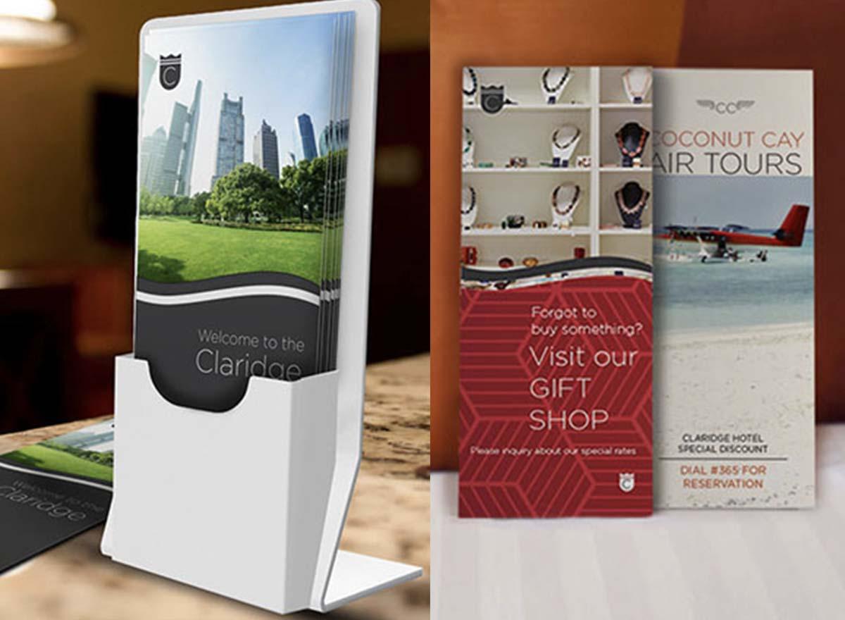 Marketing Materials Printing - Rack Cards